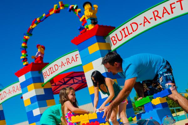 build a raft legoland